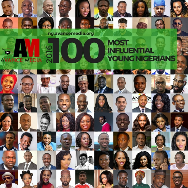 100 Most Influential Young Nigerians in 2016 by Avance Media