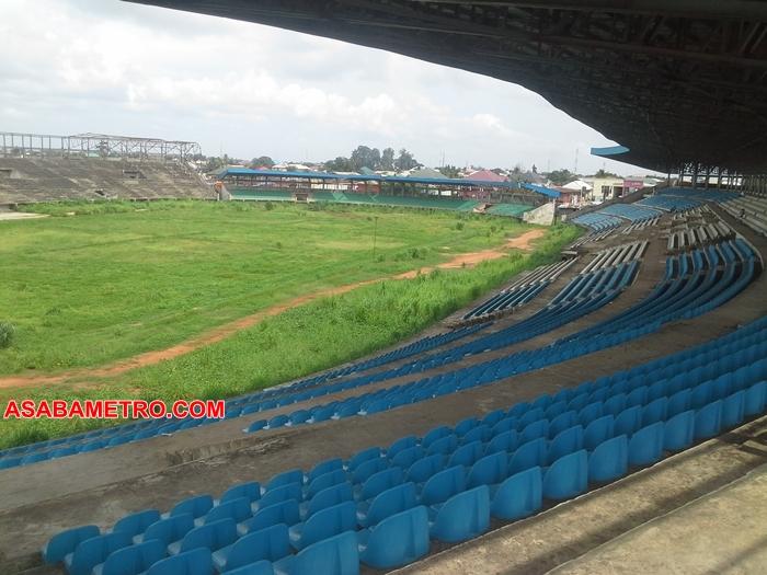 Abandoned Asaba Stadium