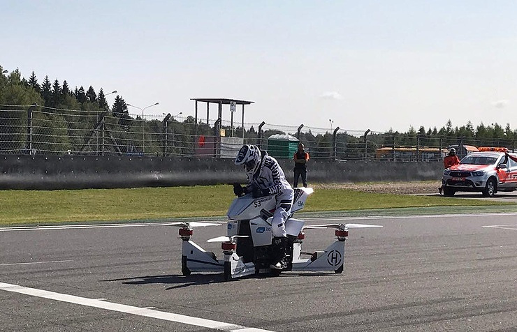 Russian hoverbike
