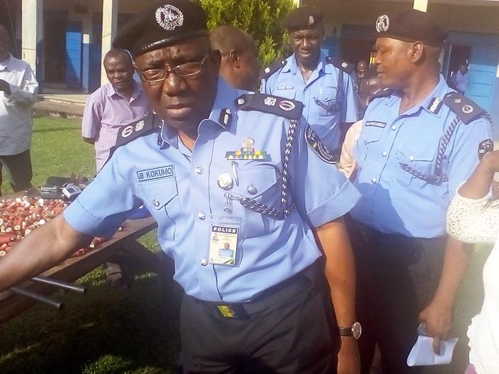 Edo State Police Commissioner, Johnson Babatunde Kokumo
