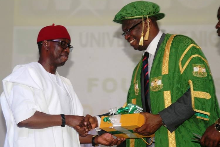 Okowa Receives Dignity Of The Man Award