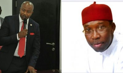 Pics Insert: L-R, Dr Michael Nwoko and Governor Ifeanyi Okowa