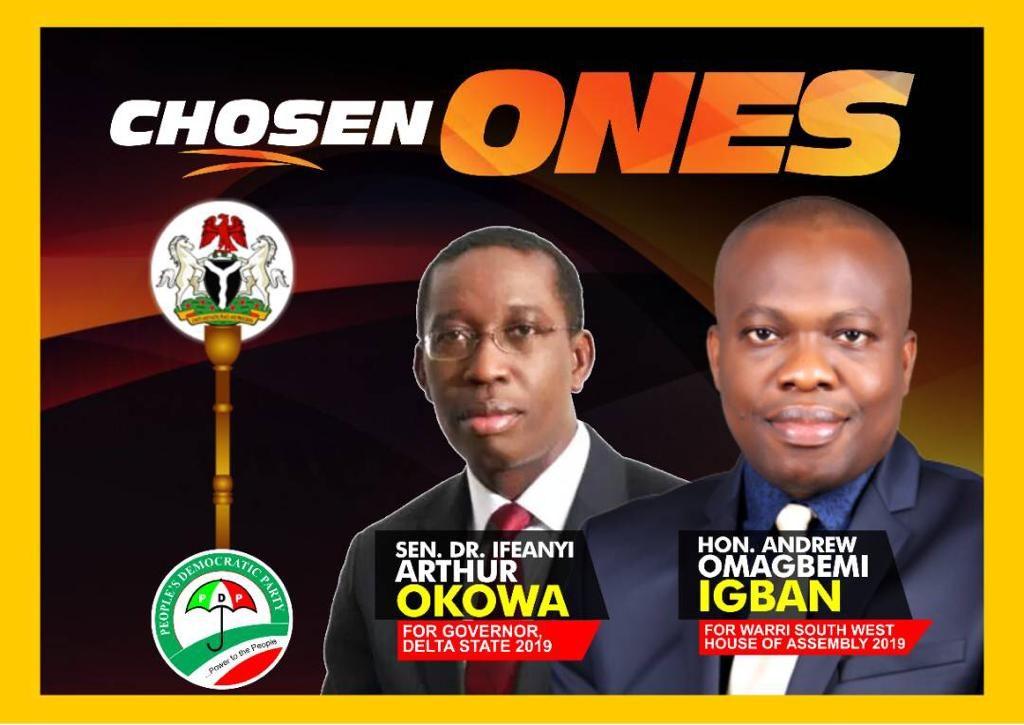Okowa and Igban Advert