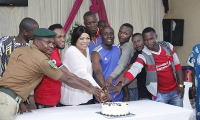 Hon Angela Nwaka Celebrates Birthday With Inmates of Ogwashi-Uku Prison