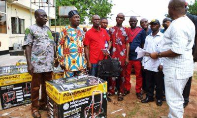 Senator Nwaoboshi Generator to PDP Secretaries in Delta North