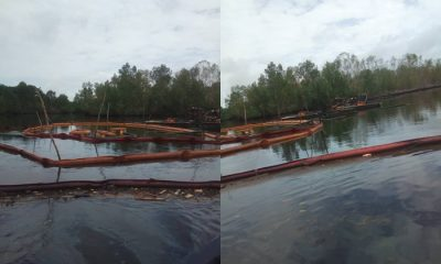 Oil Spillage in Odimodi Caused by Shell