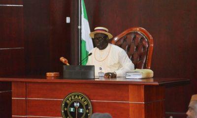 Rt. Hon. Sheriff Oborevwori, Speaker, Delta State House of Assembly