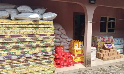 Relief Materials Donated by Nigeria Agip Oil Company