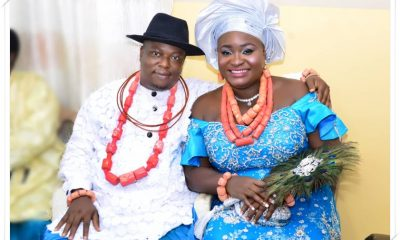 Mr and Mrs Ejiro Nomuoja