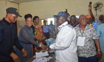 Delta State Speaker, Rt. Hon. Sheriff Oborevwori Picks PDP Okpe Ticket