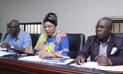 Hon Angela Nwaka (m) Chairman, Delta State House Assembly Committee on Education