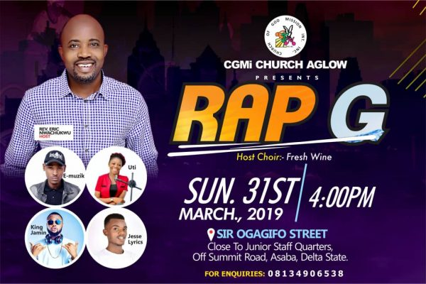 RAP G by Church Aglow Asaba